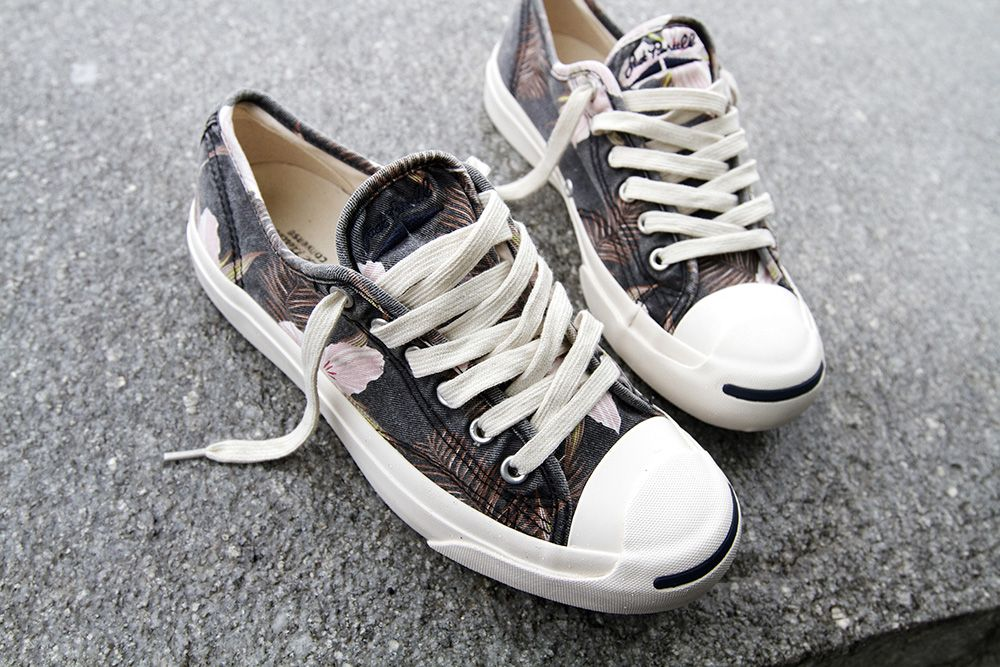 Converse Jack Purcell Floral
