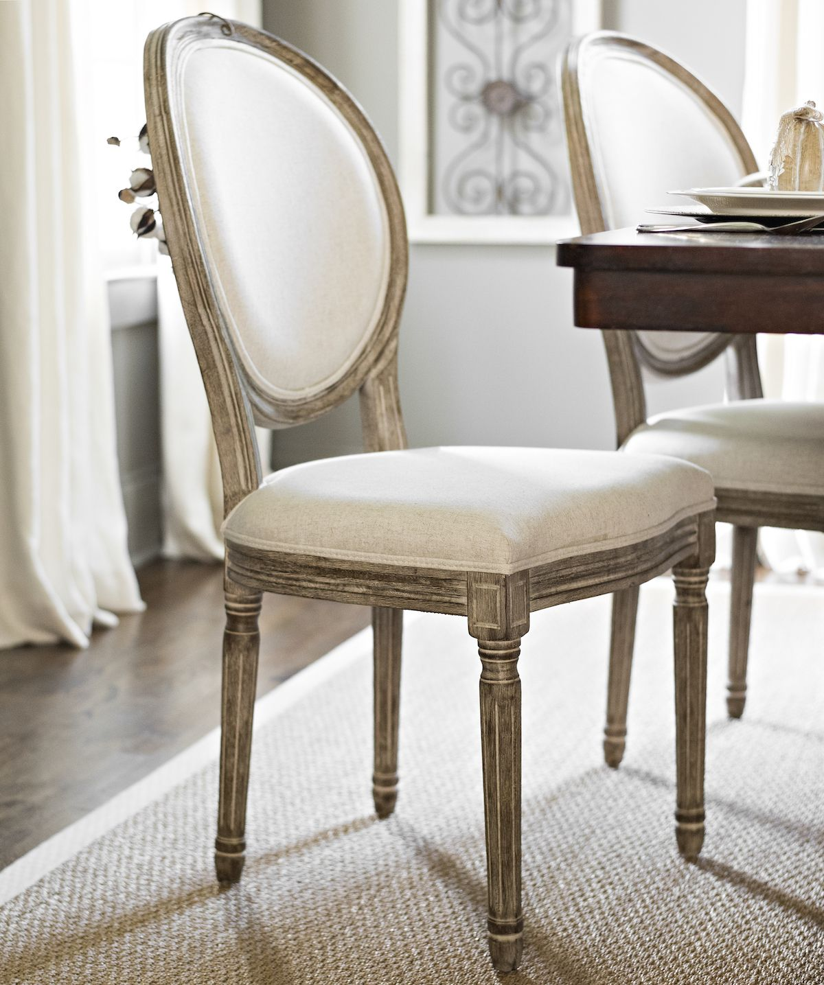 Product Details Ivory Louis Dining Chair