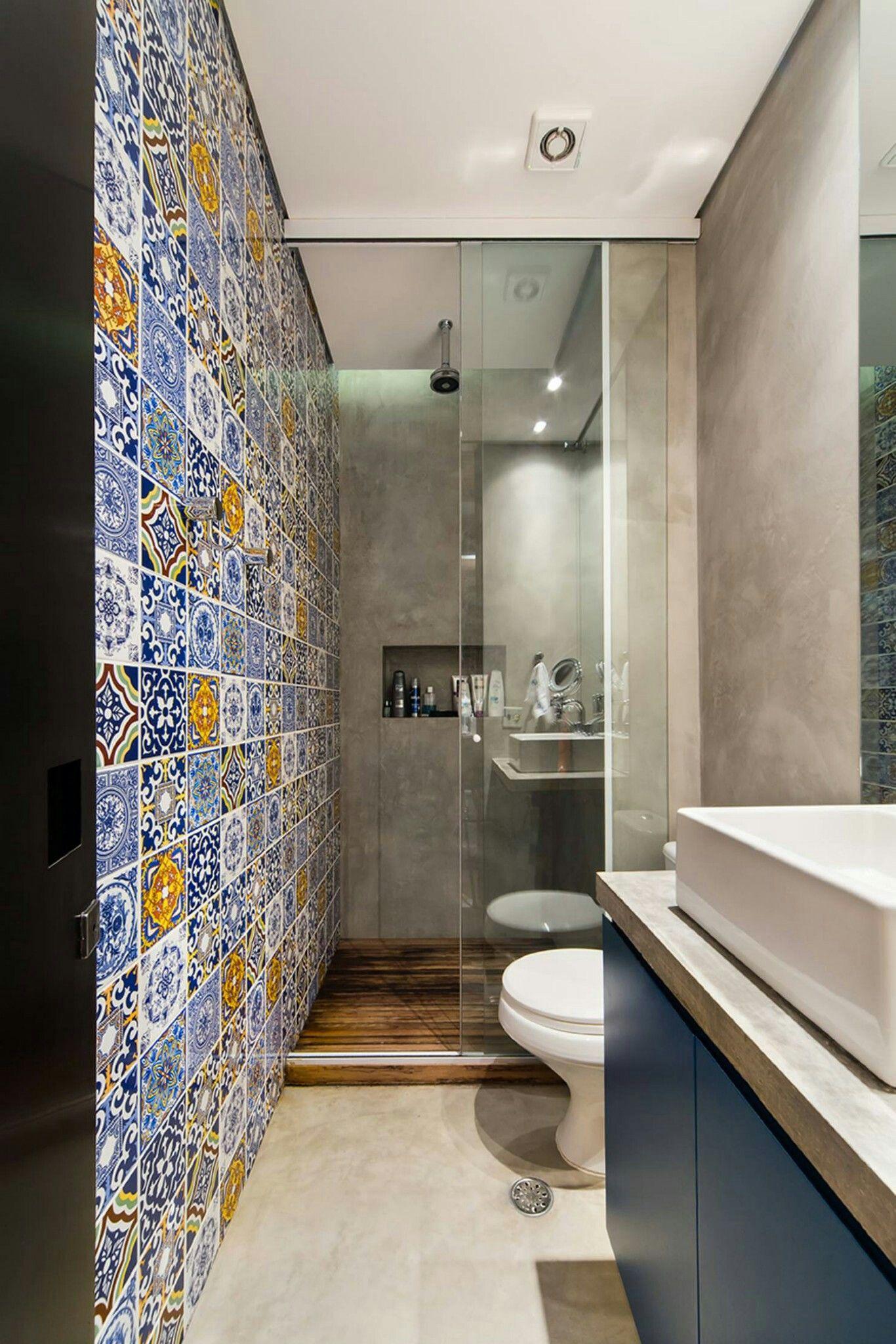 Modern bathroom photos by arquitetura i homify