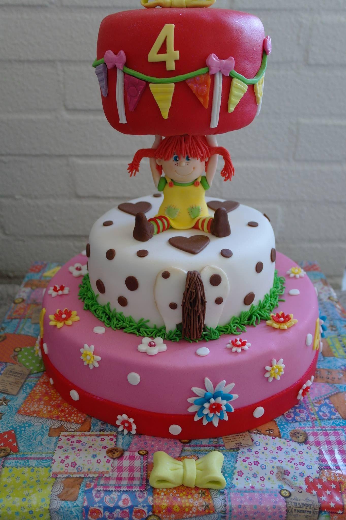 Pipi Cake Pippi Langstrumpf Party Pippi Langstrumpf Motivtorten