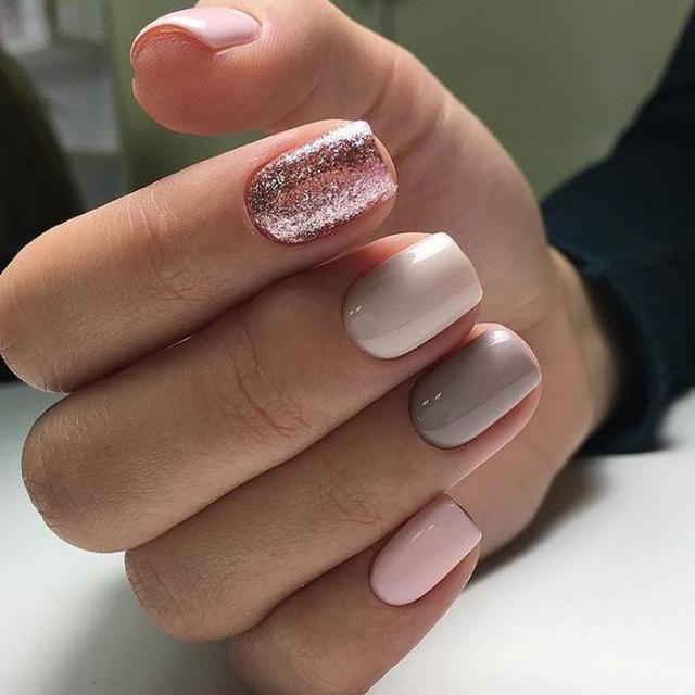 Idealnoe Sochetanie Cvetov Manikyur Nogti Manicure Nails