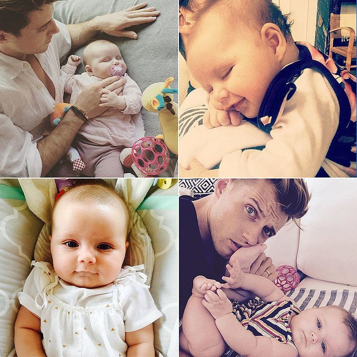nate berkus and jeremiah brent 39 s snaps of their daughter poppy are devastatingly sweet. Black Bedroom Furniture Sets. Home Design Ideas