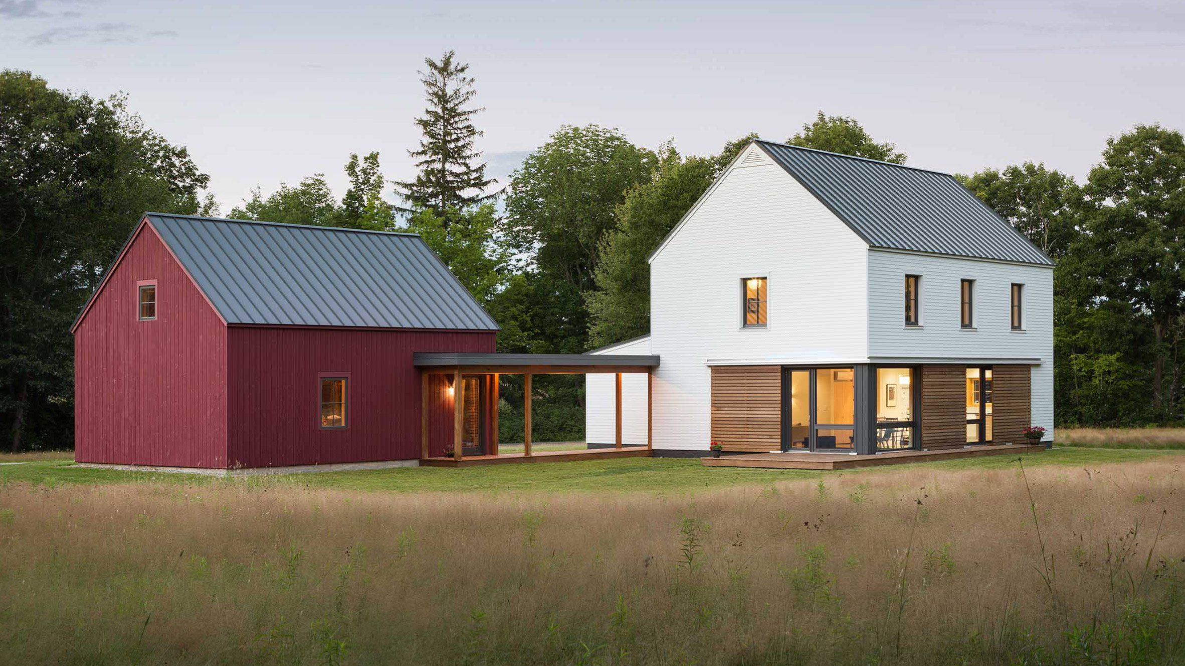 new line of prefab homes offer traditional styles with a modern