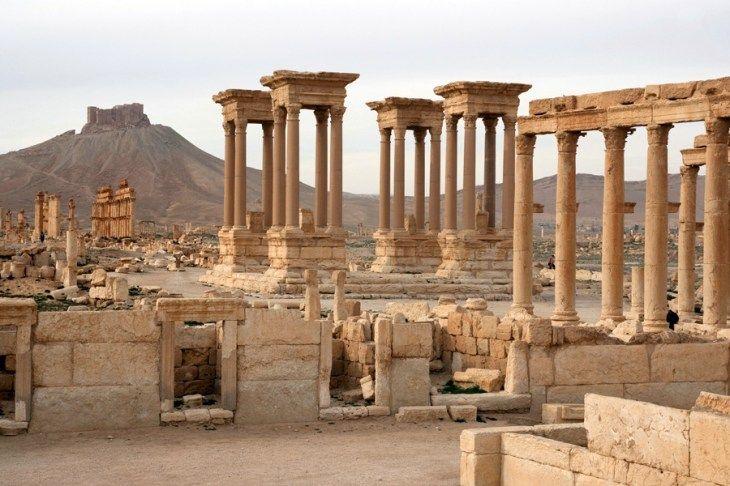 砂漠 廃墟遺跡 の画像検索結果 風景 遺跡 砂漠