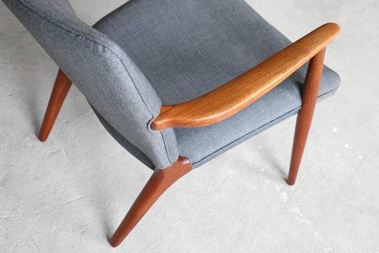 Jacob Kjær Rare Teak Easy Chair Danish Vintage Modern Furniture