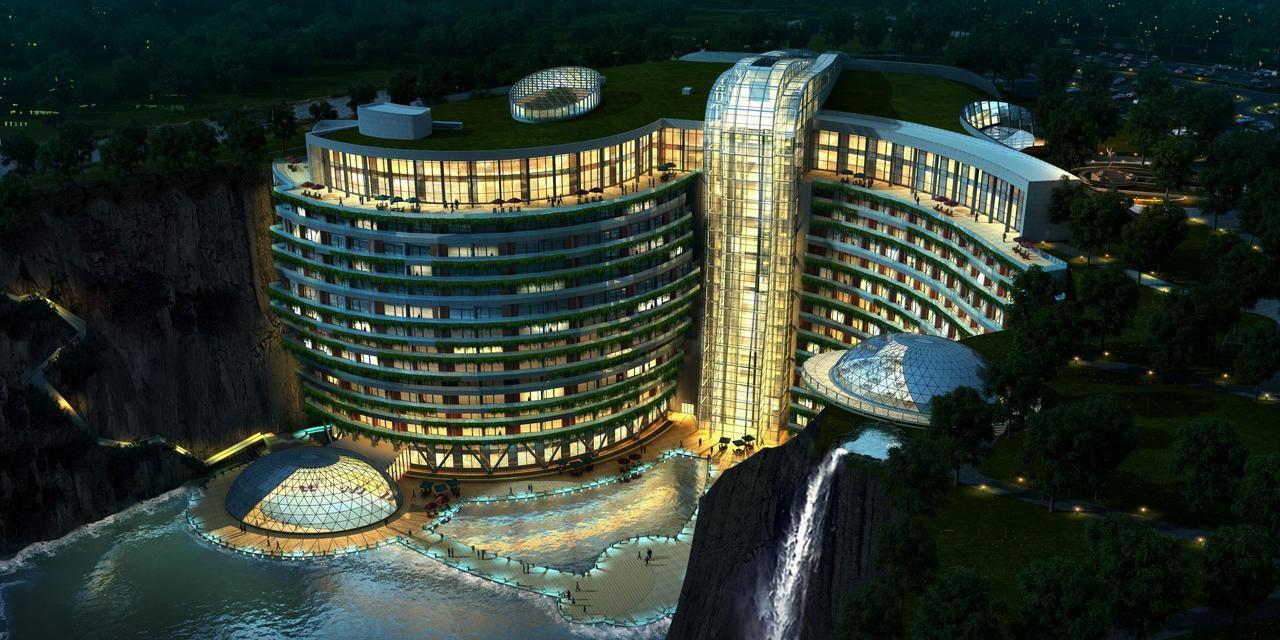 Einfaches hausdesign naksha Το πρώτο ξενοδοχείο του κόσμουσε λατομείο  μέτρα κάτω από τη γη
