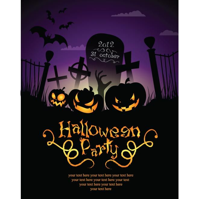 free halloween party invitation templates google search