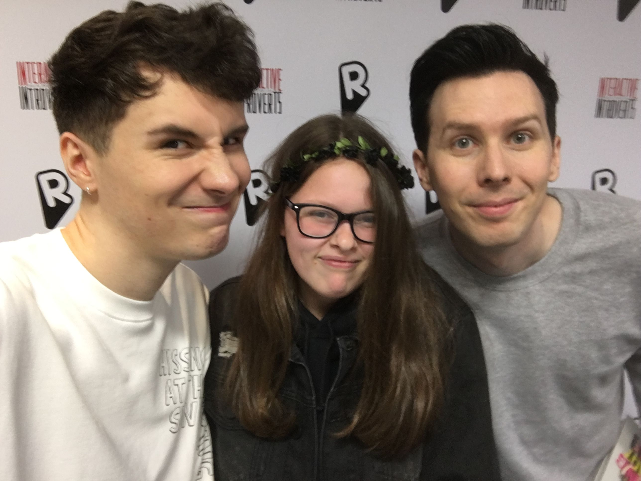 I Met Dan And Phil Pulled A Face For The Selfie Told Me Not To Worry They Are So Bloody Amazing Love Them Much