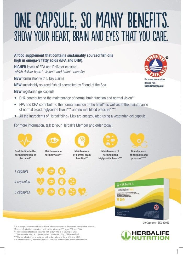 Omega 3 - Fatty Acids We Need This For  Normal Function To the
