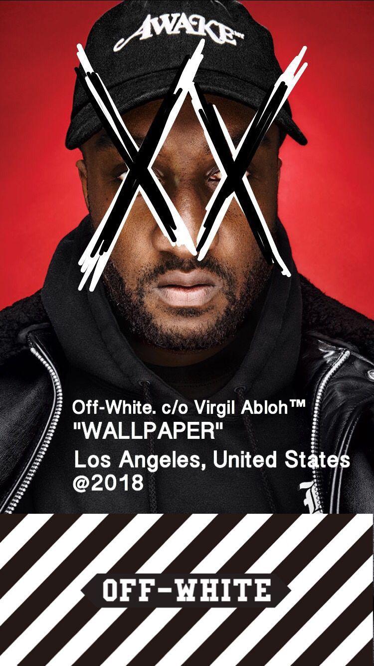 OffWhite Virgil Abloh Wallpaper ロック画面用壁紙, 待ち受け画面