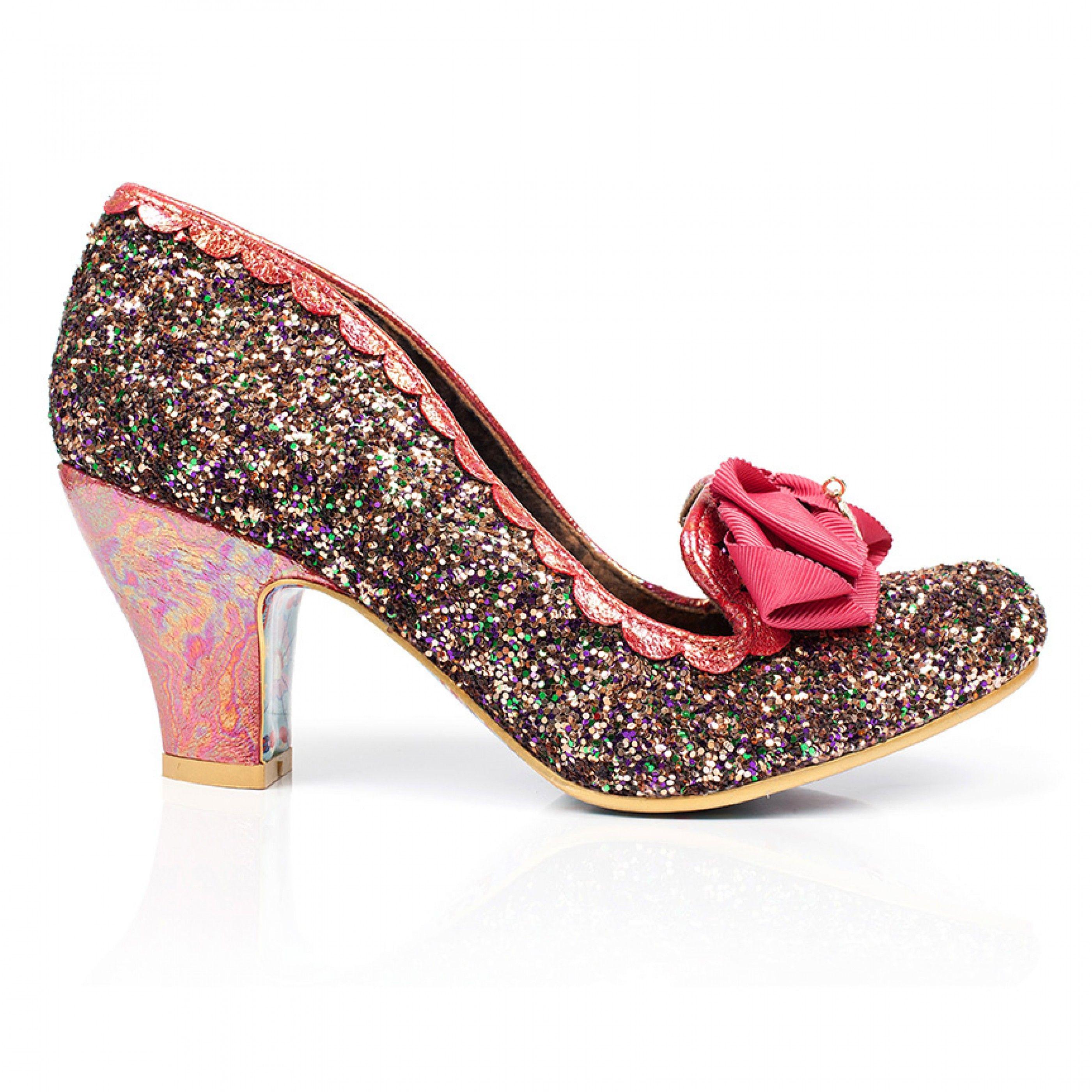 d89d6d1e34e Irregular Choice - Kanjanka | OXFORD Heels/ bow block heel | Heels ...