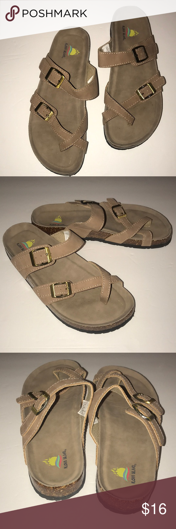 60e4972bf Aloha Island Sandals Like new condition Size 9 Sofi Sandals Aloha Island  Shoes Sandals