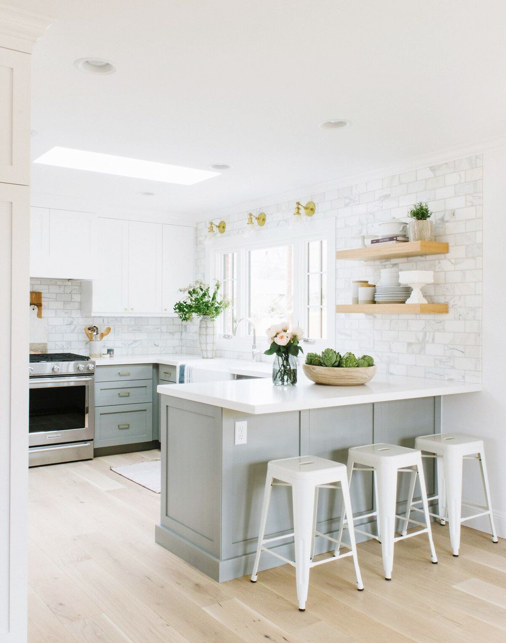 Make Your Kitchen Feel Larger with This One Trick | Kitchens, Studio ...