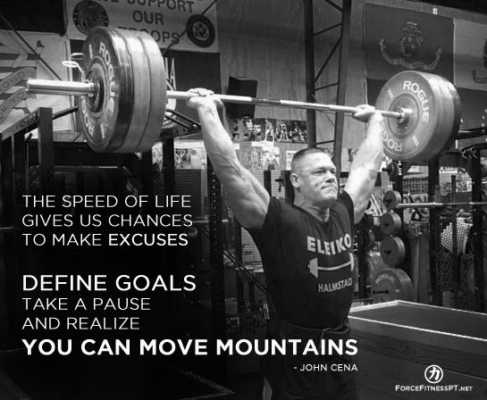 John cena wwe wrestling fitness powerlifting - Powerlifting quotes ...