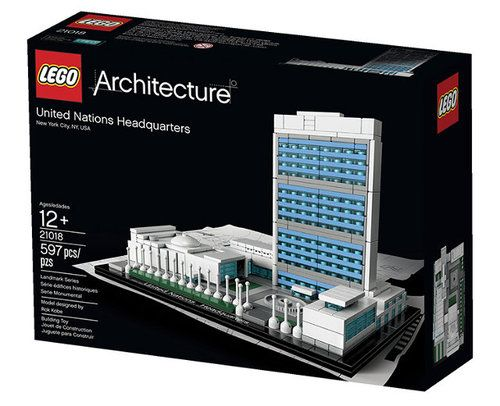 The United Nations Headquarters is nowa LEGO set, part of the LEGO Architecture series that also includes the White House, the Empire State...