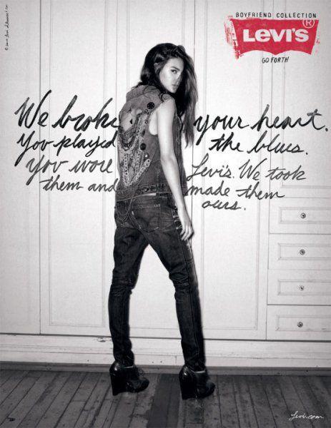 Levi's Boyfriend Jeans Autumn 2010 Ad Campaign   Jeans   Pinterest ...