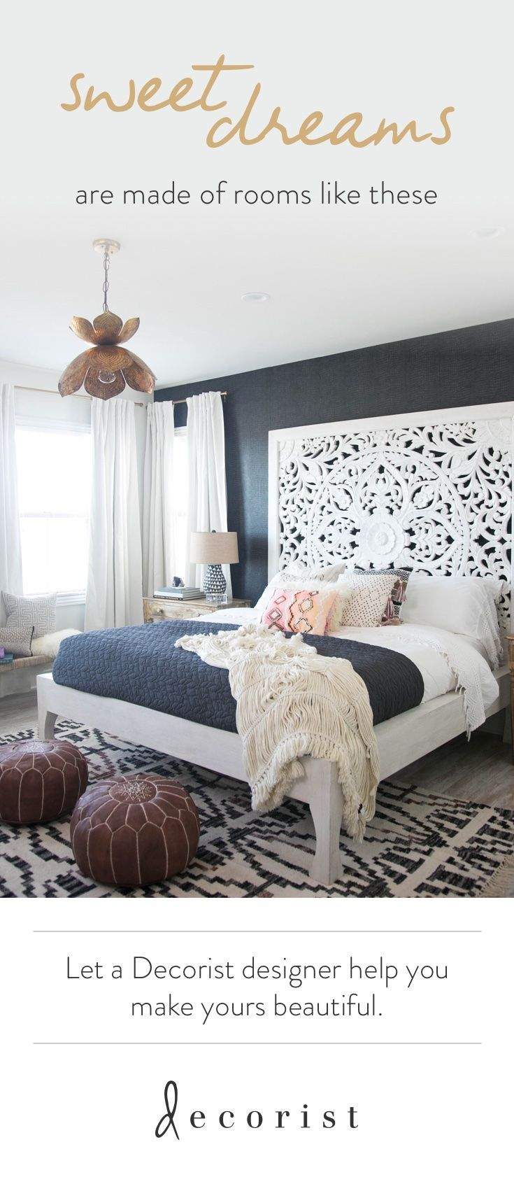 A Must-See Bali-Inspired Bungalow Bedroom Makeover | Schlafzimmer ...