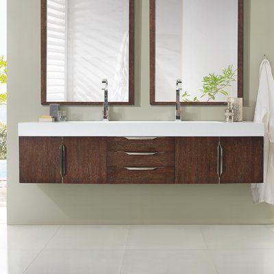 Brayden Studio Hukill 72 Double Bathroom Vanity Set Products In