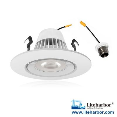 4 Led Downlight Directional Gimbal Retrofit Http Www Liteharbor Com 4 Inch Led Retrofit Downlight 15 484 4 22 Led Downligh Can Lights Pot Lights Downlights
