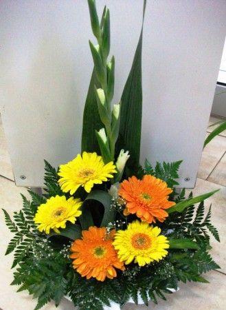 Arranjo Cemiterio Com Gerberas Arranjos De Flores Tropicais
