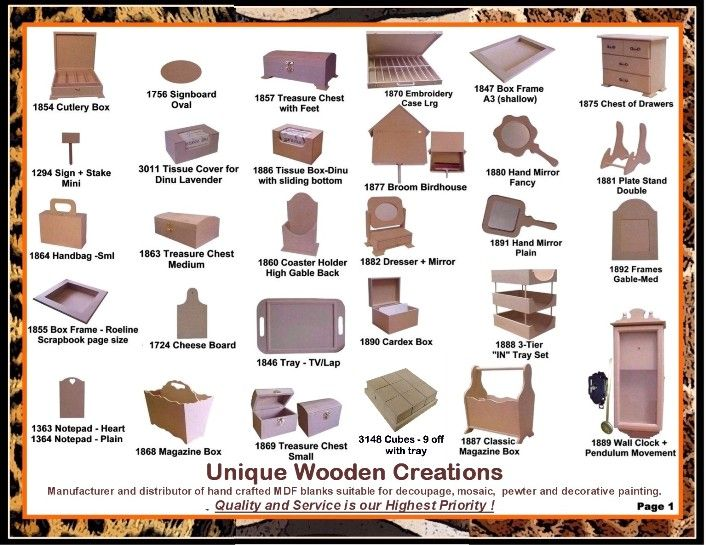 Unique Wooden Creations Manufacturers And Suppliers Of Quality Blanks For Decoupage Decorative Folk Art Painting