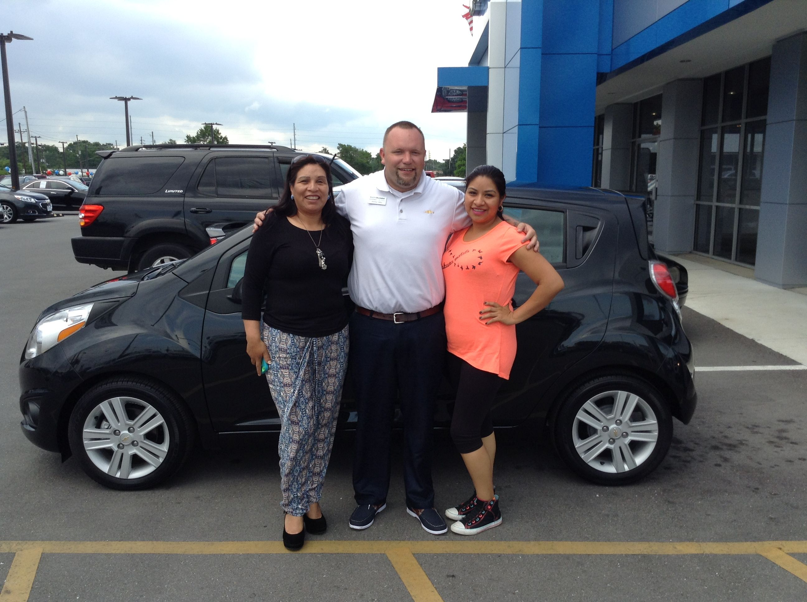 Another Chevrolet Spark Has Left The Building And So Has Another Super Deal Pictured Below Are Maria Gonzalez Who Is The Owner Of This Chevrolet Spark Couple Photos Chevrolet