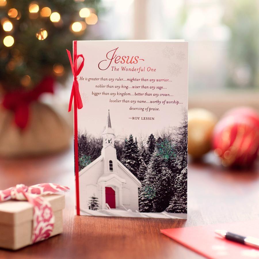 JesusThe Wonderful One 16 Christmas Boxed Cards Boxed