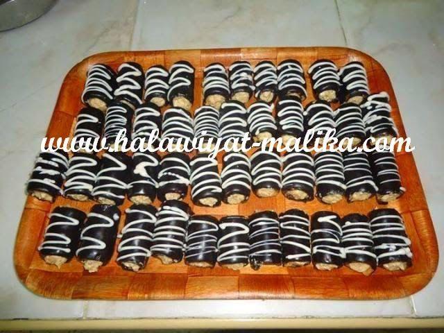 حلويات مليكة لعشاق الحلويات: حلوة السيجار المحشي رووعة