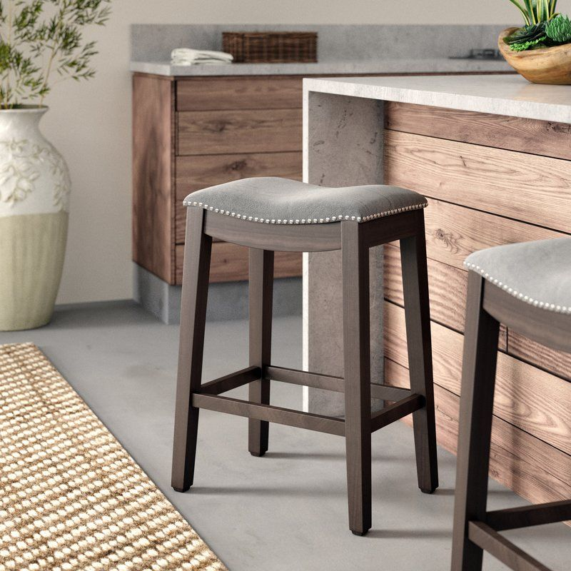 "Finkle 26.5"" Bar Stool Backless bar stools, Bar stools"