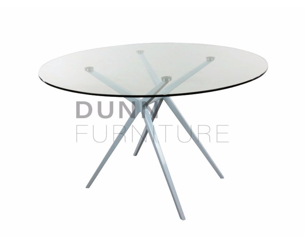 Ares Round Meeting Table Glass U2013 Dunn Furniture