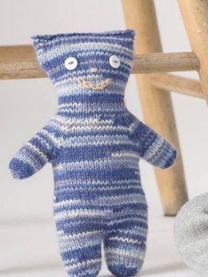 Lapsen Pikkuhirviö-lelu Novita Nalle Taika | Novita knits