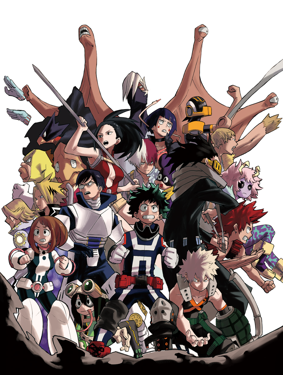Boku No Hero Academia My Hero Anime Hero Wallpaper