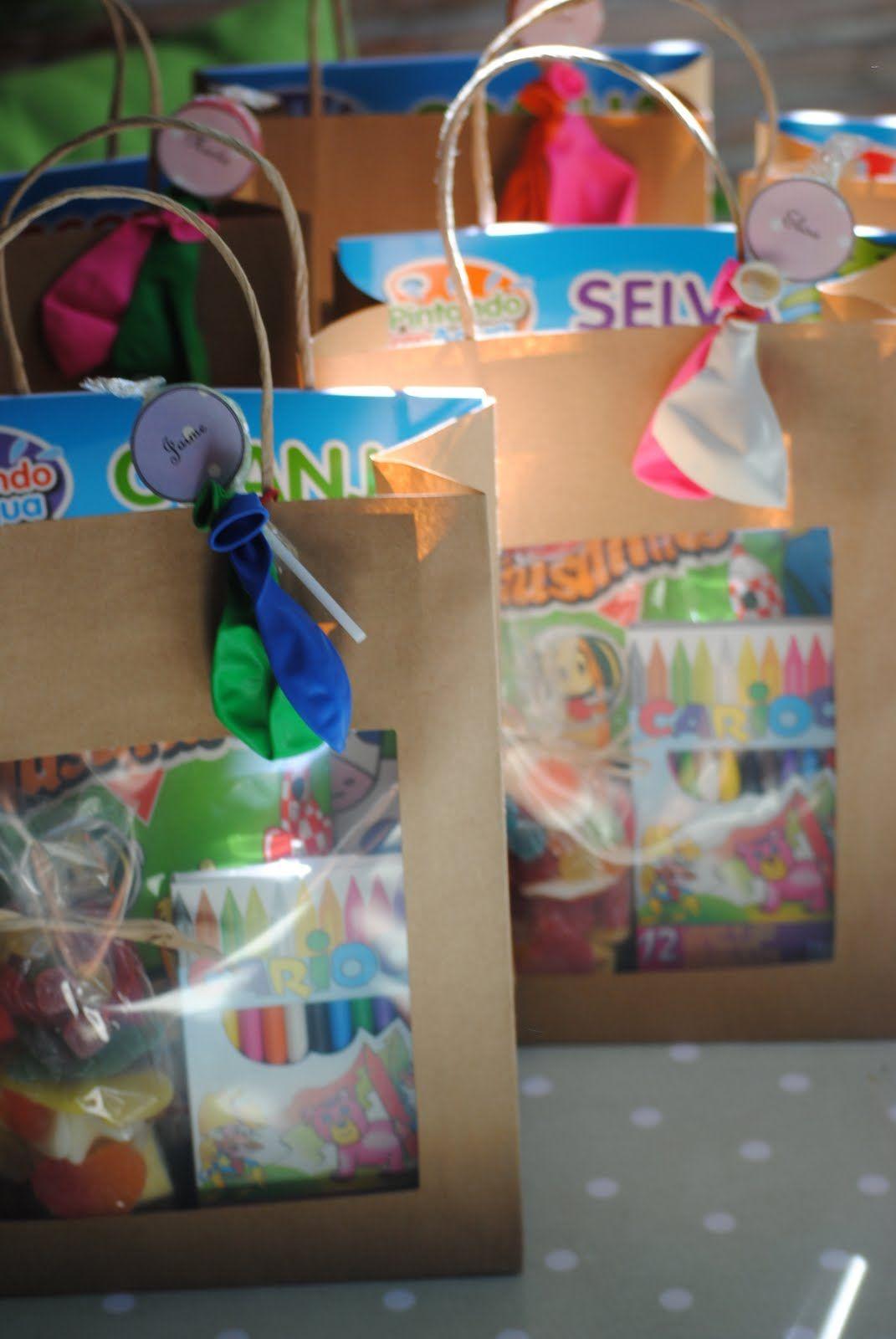 Los detalles de bea 23 bolsas dulces cargadas de - Golosinas para cumpleanos de ninos ...