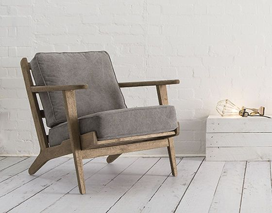 Mid century modern danish style armchair from swoon editions