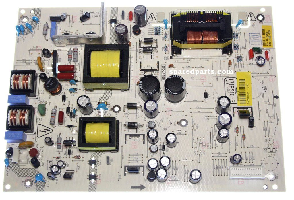 vestel 17ips10 3 power supply pcb 20457187 power supply boards rh pinterest com