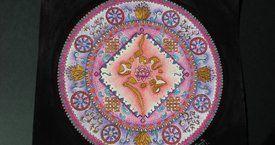 """Mandala créer pour l'association """"le jardin des lotus"""" Elo Art Mandala - Artiste, créatrice de Mandalas."""