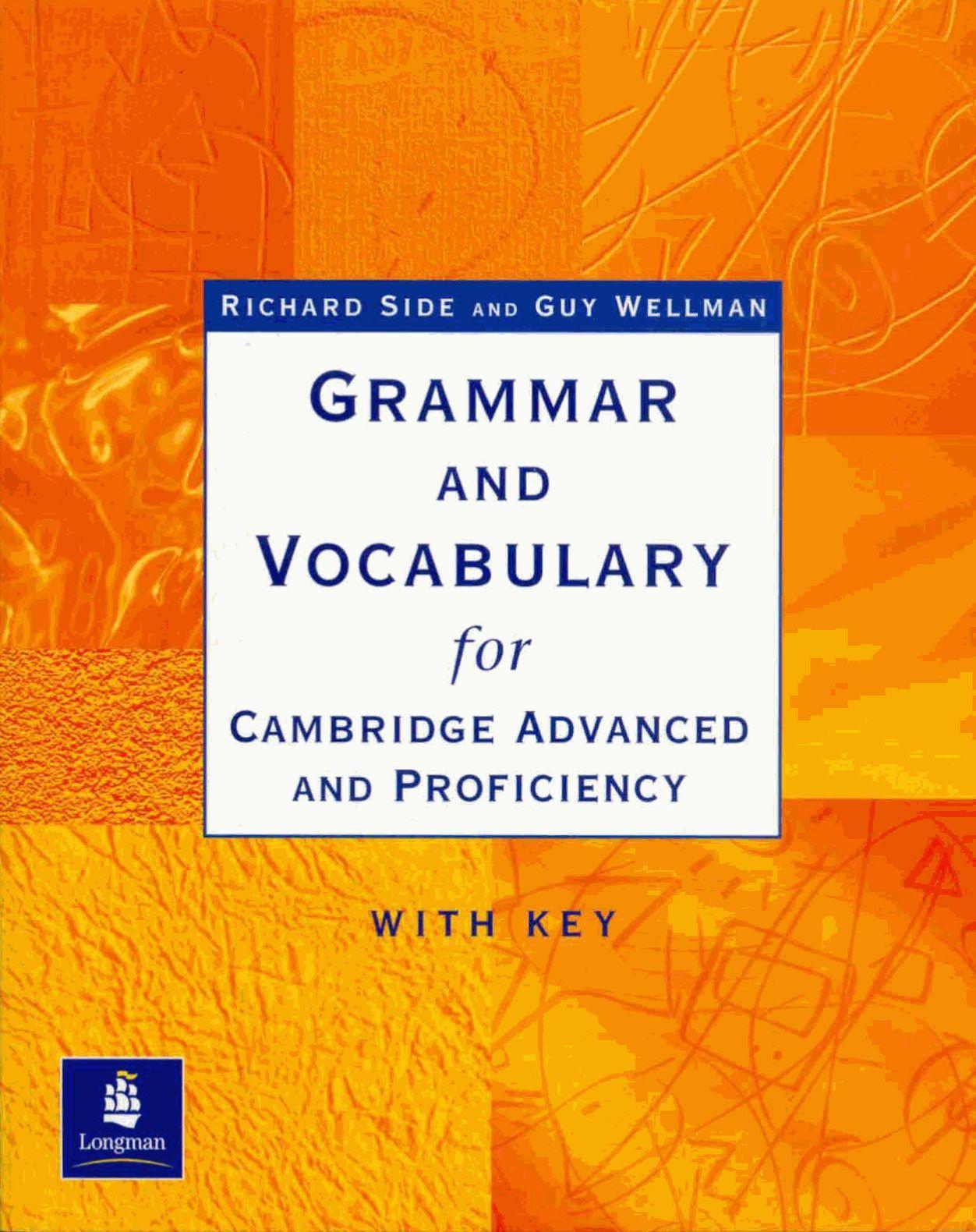 Longman Grammar And Vocabulary For Cae