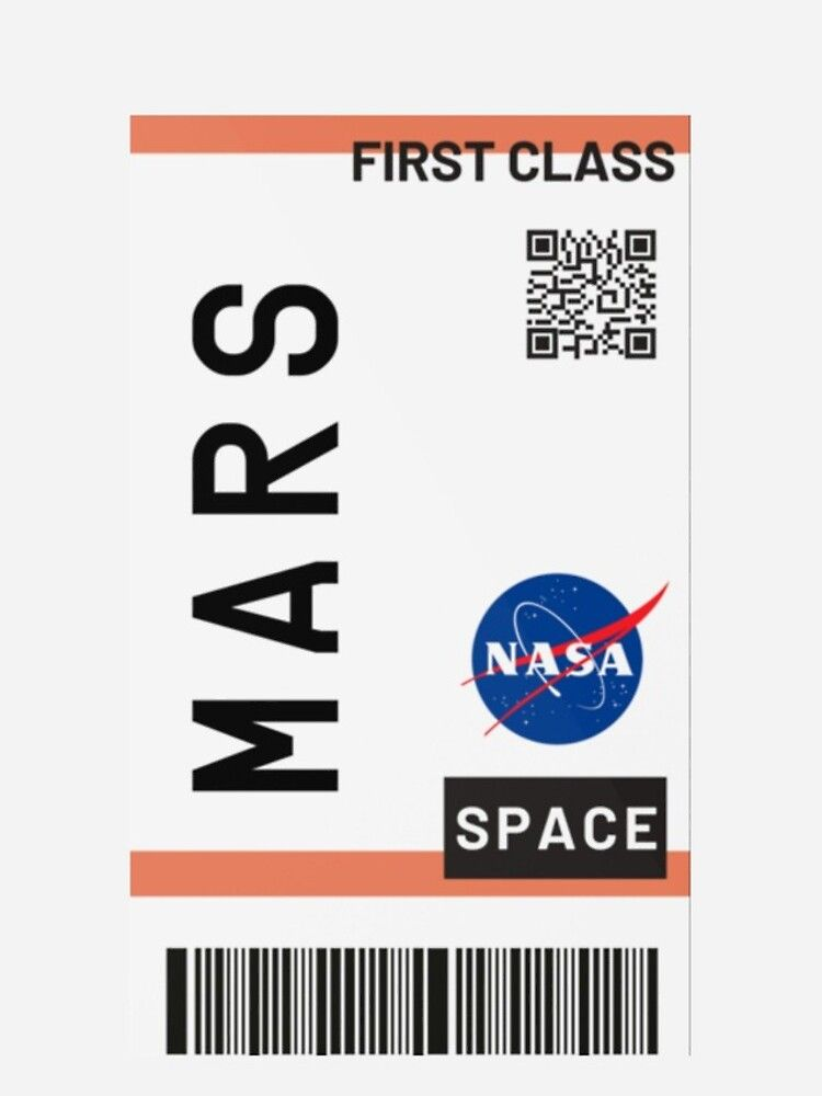 Best Seller Mars Plane Ticket Nasa Iphone 11 Soft By Zaklawson24 In 2020 Diy Iphone Case Funny Phone Wallpaper Iphone Case Stickers