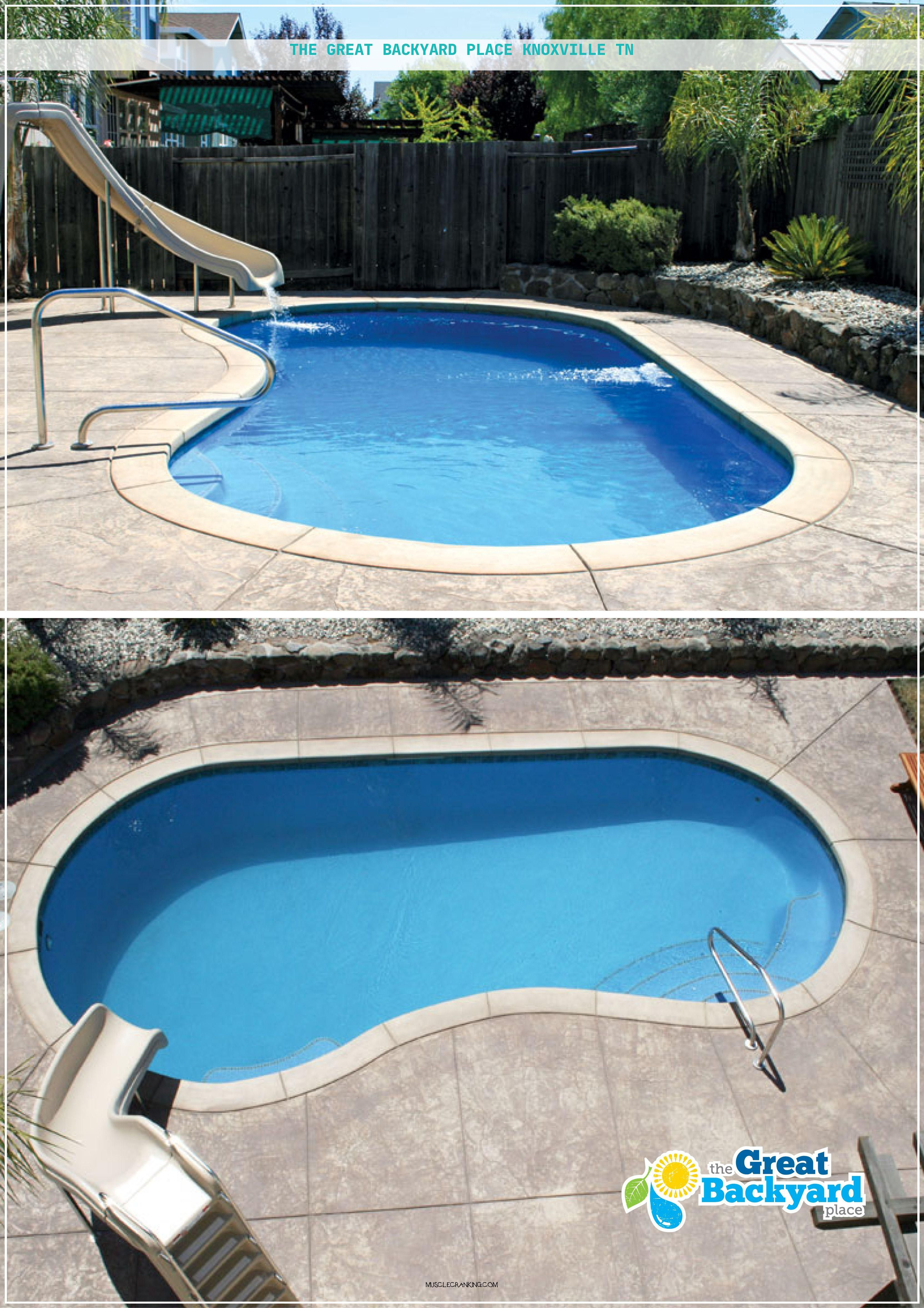 The Great Backyard Place Knoxville Tn 2021 Pools Backyard Inground Backyard Pool Swimming Pool House
