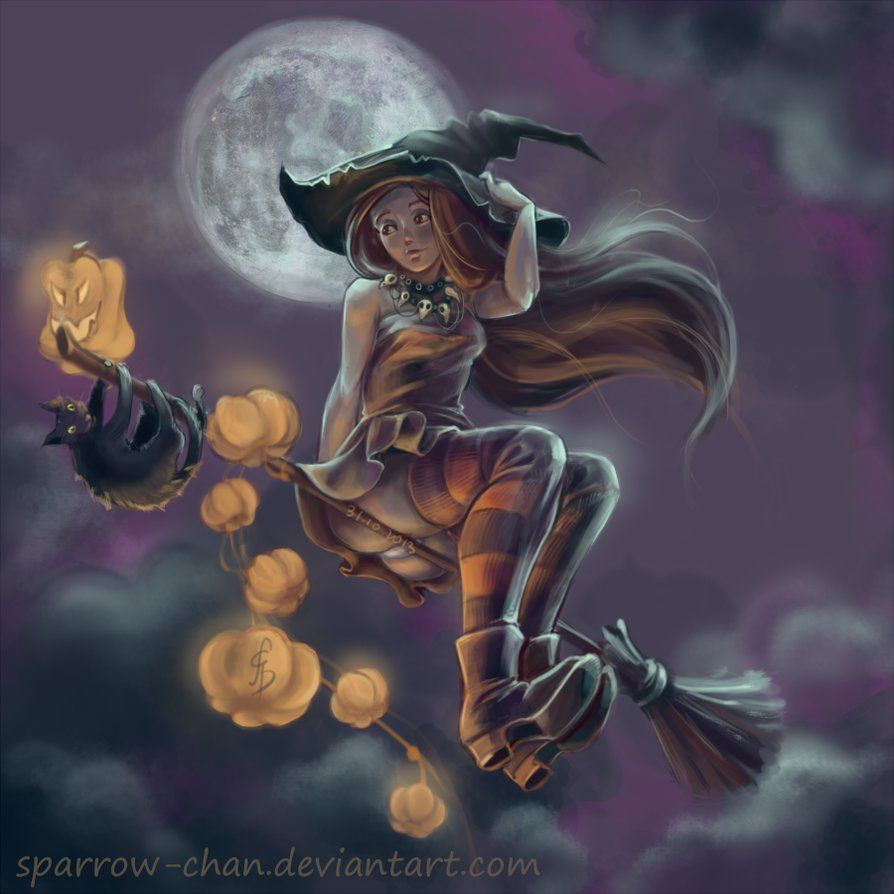 halloween witch by sparrow chan on deviantart - Halloween Which