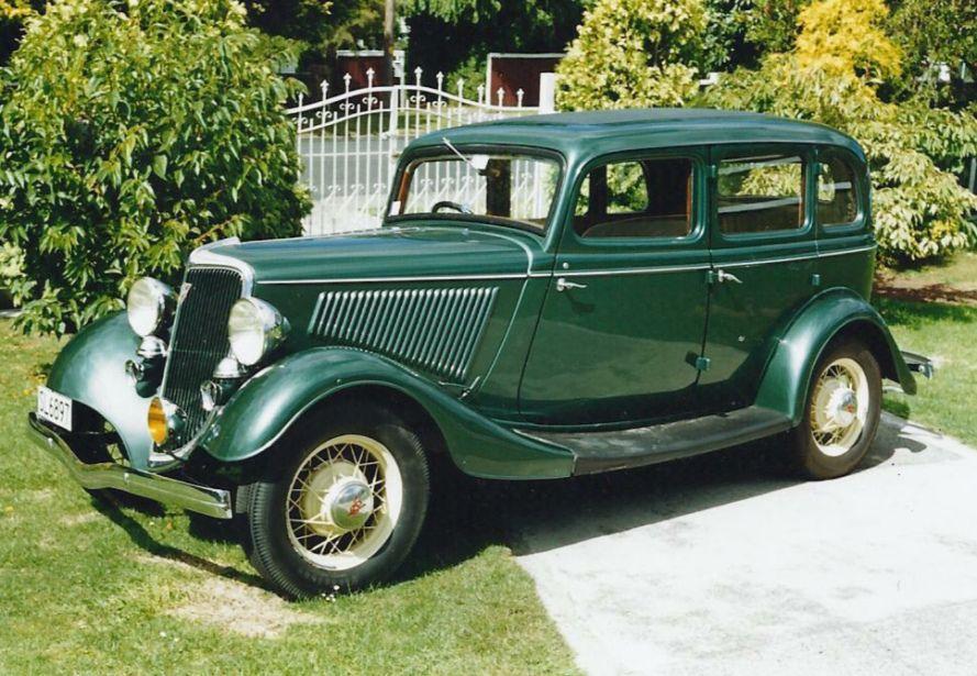 1934 Ford V8 Green Fordor Sedan Ford Classic Cars Sedan Ford V8