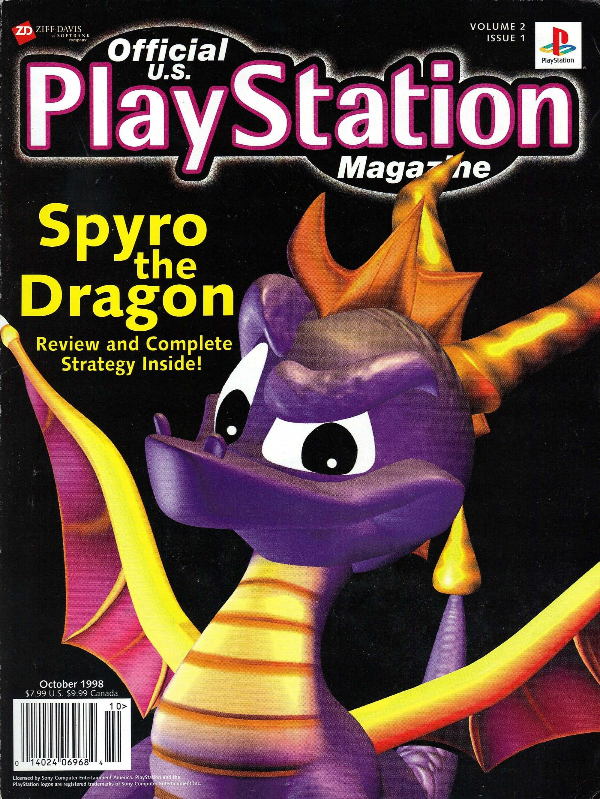 spyro the dragon an epic game | Video game magazines ...
