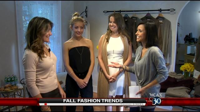 The seasons are changing and so is fashion. Gina Bullard went to Mendy's to find out what the best looks of the fall.Mendy Mitiguy is from Mendy's Clothing and Accessories.