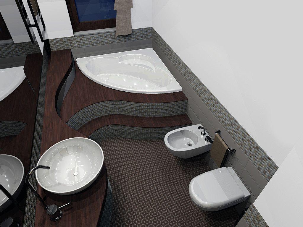 Bagno Moderno Con Vasca Da Incasso : Bagno moderno con gradino la migliore idea di interior design e