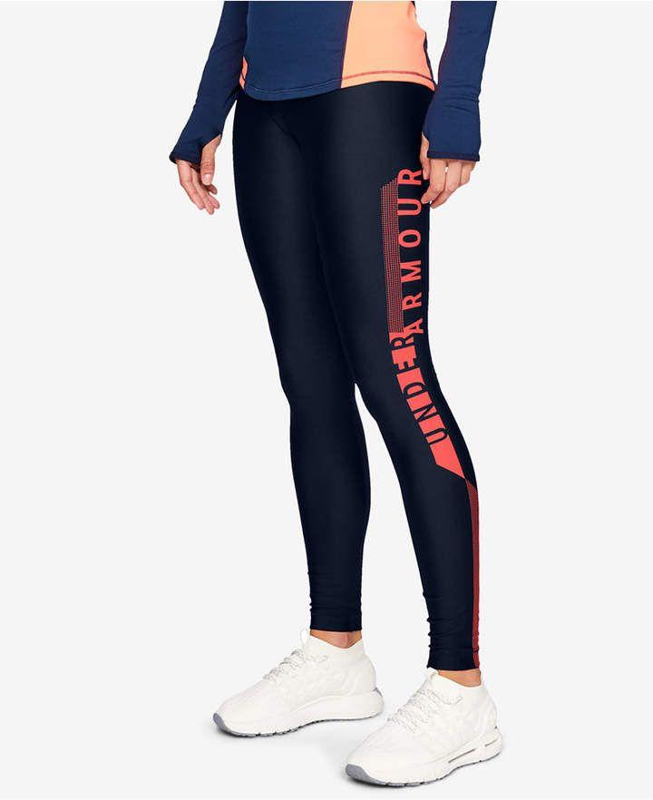 89d58bdbd5d HeatGear® Logo Leggings in 2019 | Products | Leggings, Under armour ...