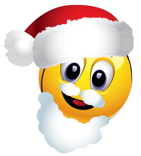 Santa Emoticon Funny Emoticons Christmas Emoticons Funny Emoji