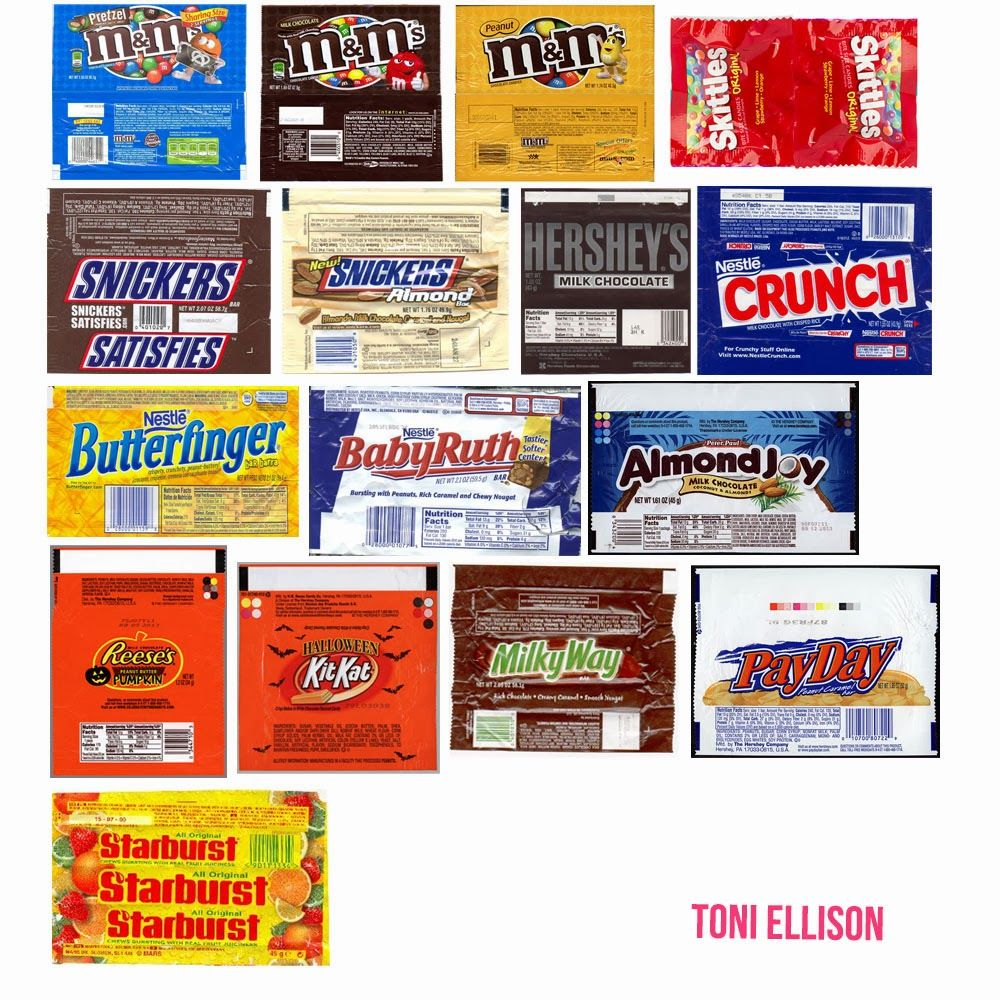 halloween candy - Stuff To Print Out