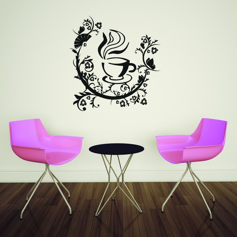 Style & Apply 'Coffee Pleasure' Wall Art Decal