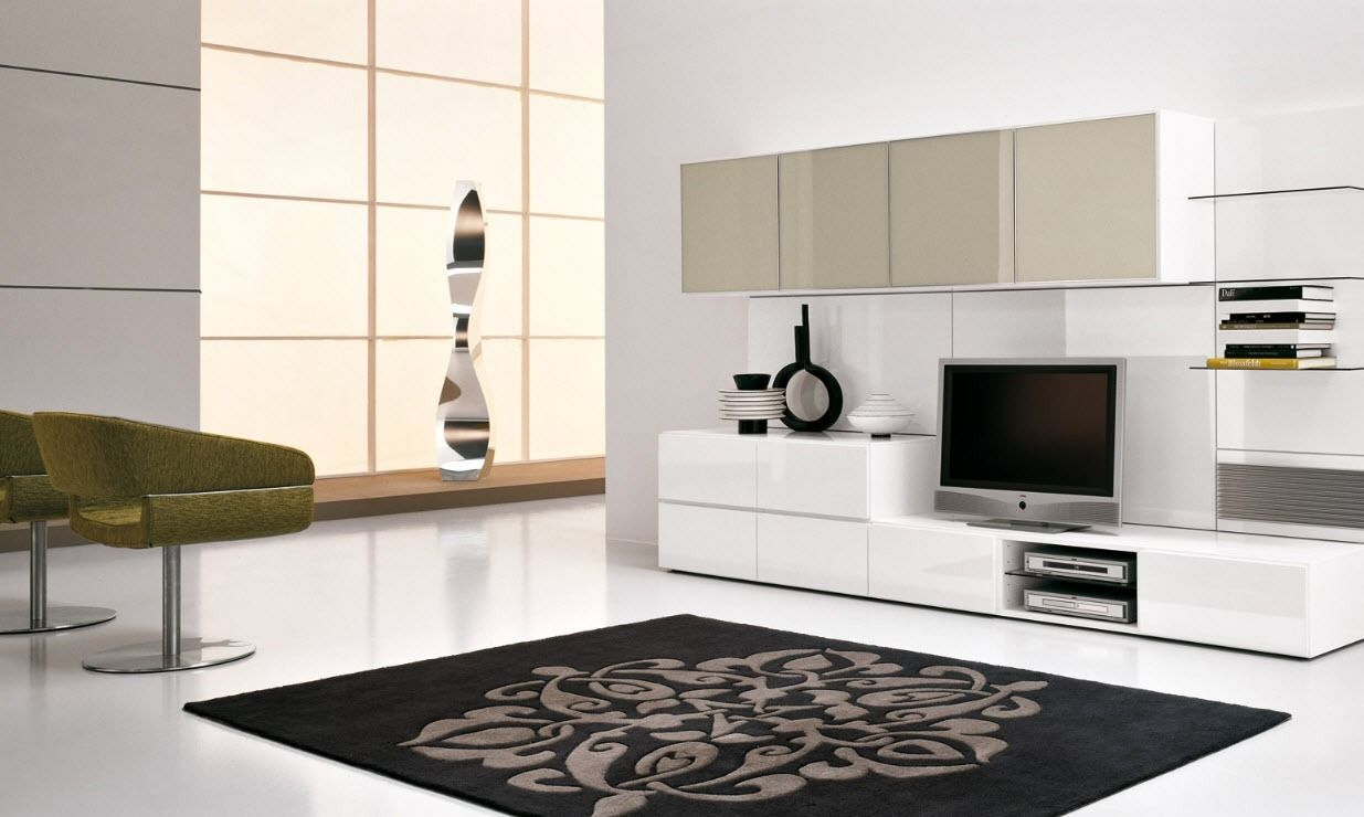 modern wall units. french modern tv wall units with big cabinet