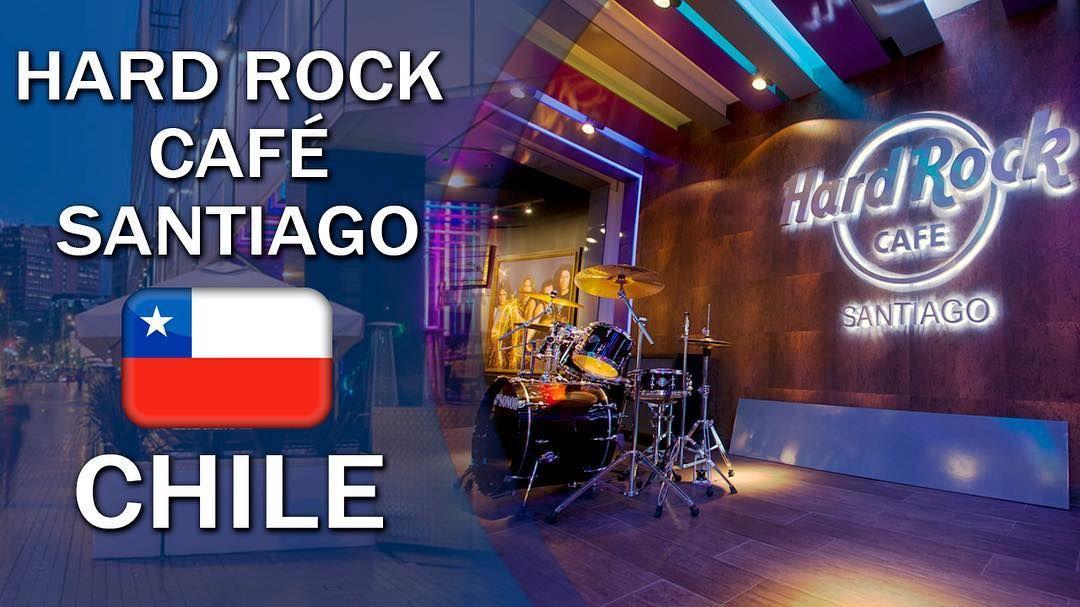 Hard Rock Cafe Santiago.  #chile #americadosul #sudamerica #viagem #viajar #ferias #vacaciones #trip #travel #inverno #santiago #music #rock #hardrockcafe #restaurante